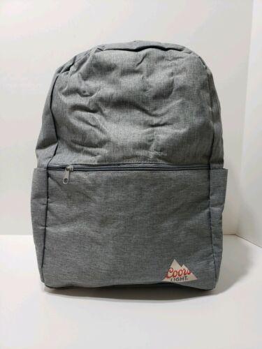 Coors Light Beer Cooler Explorer Backpack Insulated Zipper B