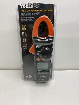 Klein Tools Cl210 400a Ac Digital Clamp Meter New Open Box Auto-ranging