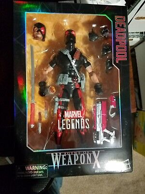 MARVEL LEGENDS SERIES AGENT OF WEAPON X 12-INCH DEADPOOL FIGURE X FORCE