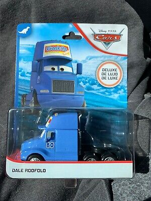 Disney Pixar cars Dale Roofolo Semi Hauler #80 New 2020 Gask-its Dinoco 400