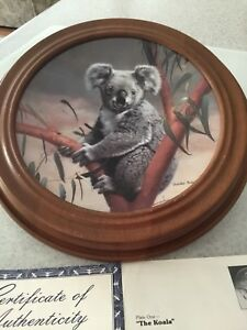 "Collector Plate - ""The Koala"""