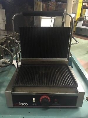Winco Commerical Panini Press Epg-1
