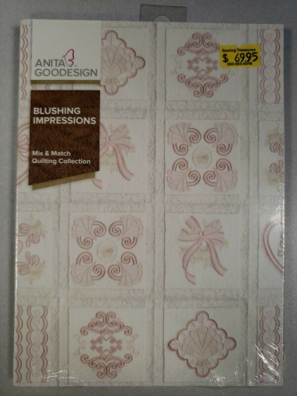 Blushing Impressions Machine Embroidery Anitagoodesigns