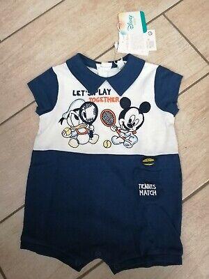 Tutina bimbo 3-6 mesi 62cm OVS Disney baby cotone jersey