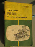 JOHN DEERE PA 800 SERIES PLANTING ATTACHMENTS OPER picture