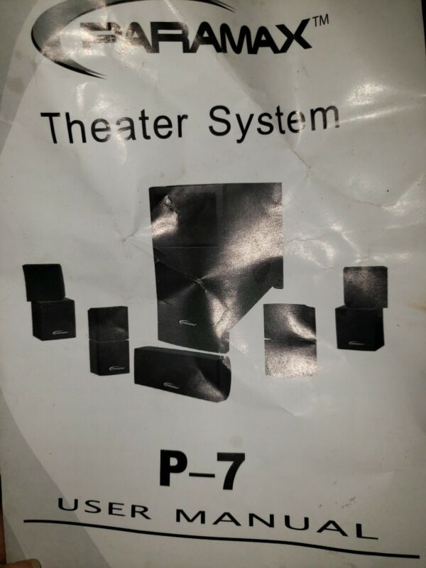 Paramax Theater System P-7