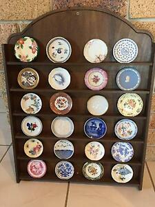 Miniature Plates Great Porcelain Houses of the World Collection Eatons Hill Pine Rivers Area Preview