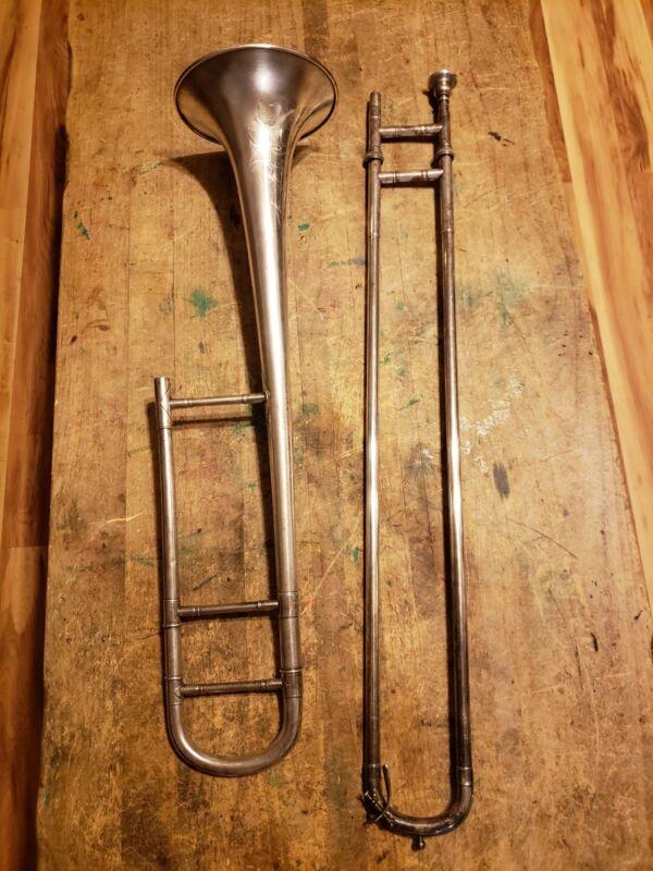 vintage conn-elkhart ind. trombone  LP serial #170946