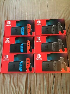 Nintendo Switch HAC-001(-01) 32GB with Blue/Red Joy‑CON BRAND NEW IN HAND