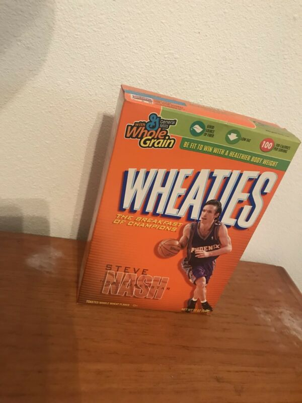 Steve Nash (Full) Wheaties Cereal Box Phoenix Suns