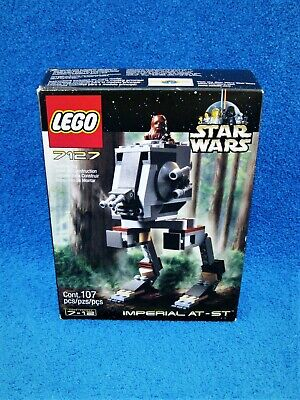 Lego Star Wars Imperial AT-ST w/Chewbacca Minifigure #7127 Set 2001 Sealed - New