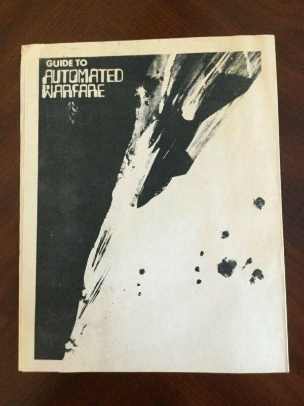 Vintage 1972 Anti-War newspaper Vietnam Underground Automated Warfare