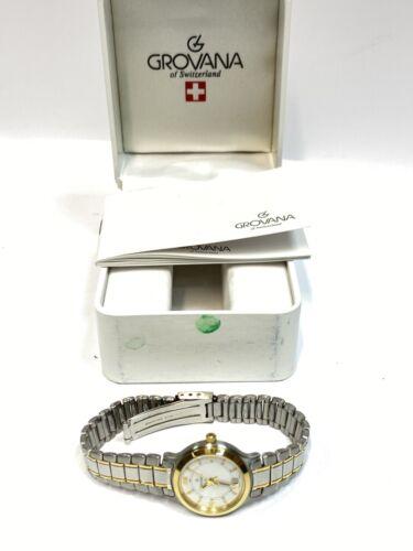 Grovana 3705.1 Damen Armbanduhr inkl. Box Swiss Made