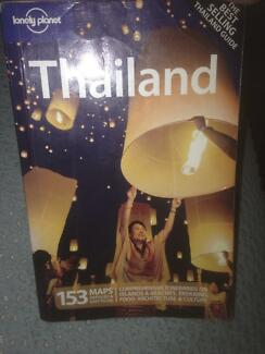 Thailand - lonely planet travel book