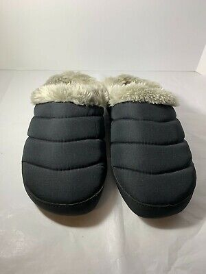 American Eagle Black Cozy Closed Toe Slip on Ladies Slippers Size Small 5-6  for sale  Shipping to Nigeria