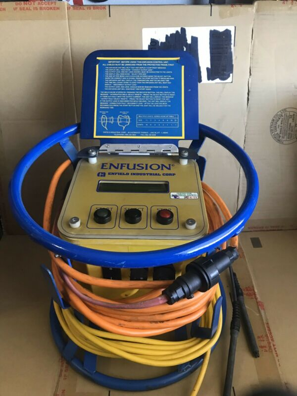 Enfield Enfusion Electrofusion Pipe Machine Ver. 2