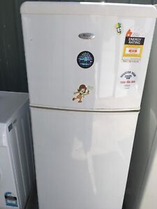 Free delivery.Whirlpool 212L fridge