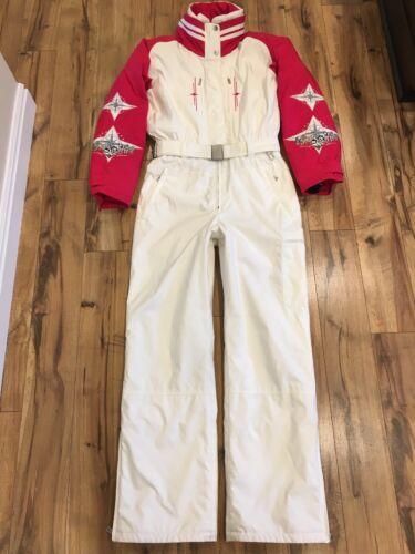 Купить Bogner - Vintage Bogner Goan Thylmann Husky Dogs Embroidered Snow Suit Women's Size L12