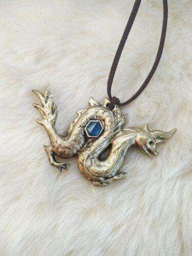 Sisu necklace. Sisu pendant. Dragon jewelry! Amulet. Talisman!
