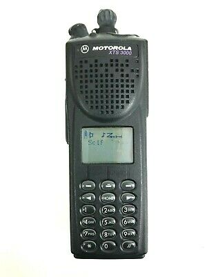 Motorola Xts3000 H09uch9pw7an Astro Iii Flashport 800mhz Radio - Bad Pixels