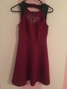 Cut out maroon wine dress North Tamworth Tamworth City Preview