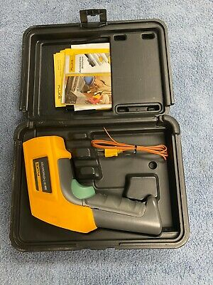 Pre-owned Fluke 566 Ir Handheld Thermometer Infrared W Lcd Display