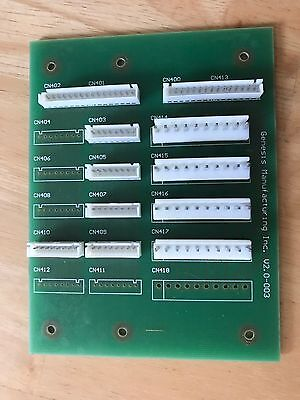 Genesis Control Board Go 127137 Combo Vending Machine Parttested