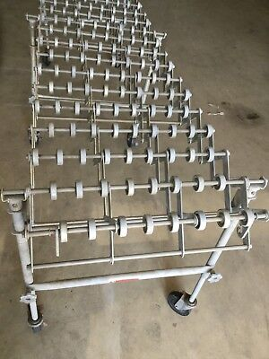 Nestaflex-175 Expandable Gravity Roller Conveyor