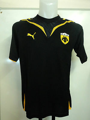 AEK ATHENS 2009/10 S/S HOME SHIRT BY PUMA ADULTS SIZE XL BRAND NEW WITH TAGS