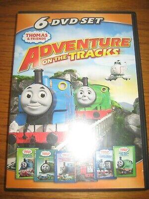 Thomas & Friends Six (6) DVD Boxed Set - Adventure On The Tracks - 2011 - EUC!