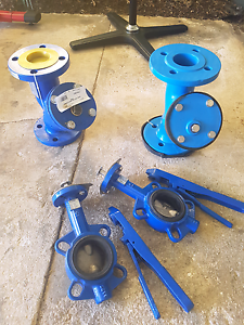 NEW!!  2 x 65mm strainers and 2 x 65mm butterfly valves Park Holme Marion Area Preview