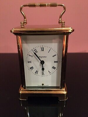 bayard carriage clock 8 Day. Lovey Looking Time Piece.