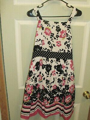 Girls Dresses Size 20 (Girls Plus Size 20 1/2 20.5 DISORDERLY KIDS Pink Black White)