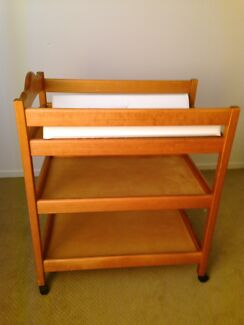 Very good condition Timber cot/ toddler bed and change table Northgate Brisbane North East Preview