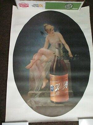 """Vintage Schlitz Beer /Tavern /Bar /Mancave poster sign 30""""x22"""""""