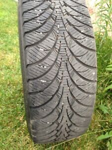 Goodyear winter tires and rims set of 4