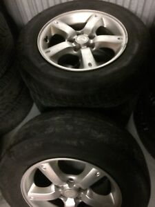 4 Mazda Tribute mags, 5 bolts, 16 inch