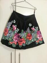 PORTMANS VINTAGE vibrant floral A-line skirt with tulle, size 12 Campbelltown Campbelltown Area Preview