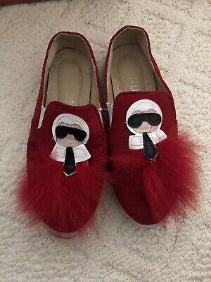 Fendi Inspired Girls Kids Shoes