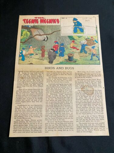 #36E TEENIE WEENIES by William Donahey Sunday Tabloid Full Page May 16, 1943