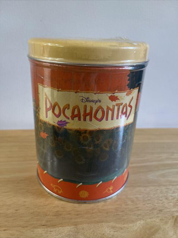 1990's disney pocahontas collector's tin