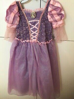 Disney Store Rapunzel Halloween Costume Dress Girls 5/6