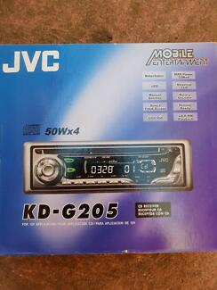 Jvc Kd g205 car radio cd receiver with detachable facia Keilor Downs Brimbank Area Preview