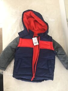BOYS WINTER JACKET - BRAND NEW WITH TAGS