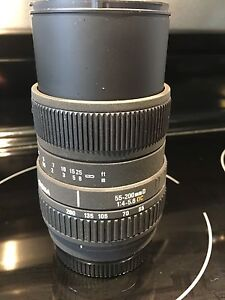 Sony mount 55-200 sigma
