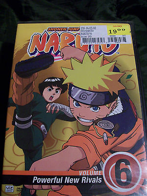 Naruto - Vol. 6: Poweful New Rivals (DVD, 2006, Dubbed)