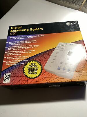 AT&T Digital Answering System 1756 New Open Box With Remote