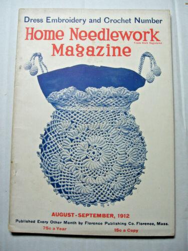 September 1912 Home Needlework Magazine