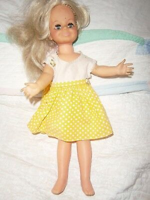 """Vintage 1969 Ideal Toy Crissy Family Growing Hair Doll 15"""""""