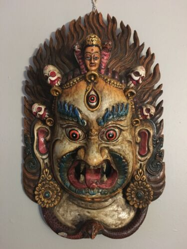 Antique Nepal Mask